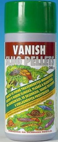 Vanish slug pellets